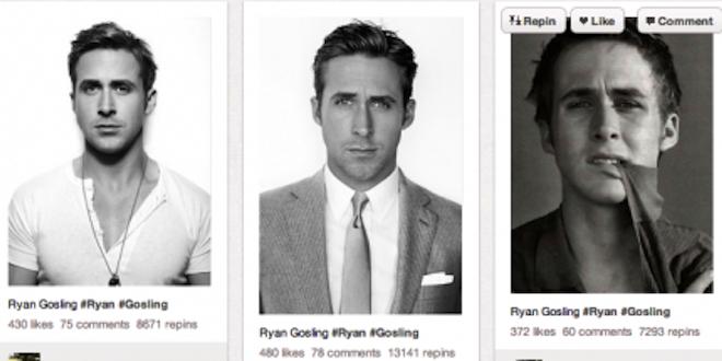 Ryan Gosling Pinterest