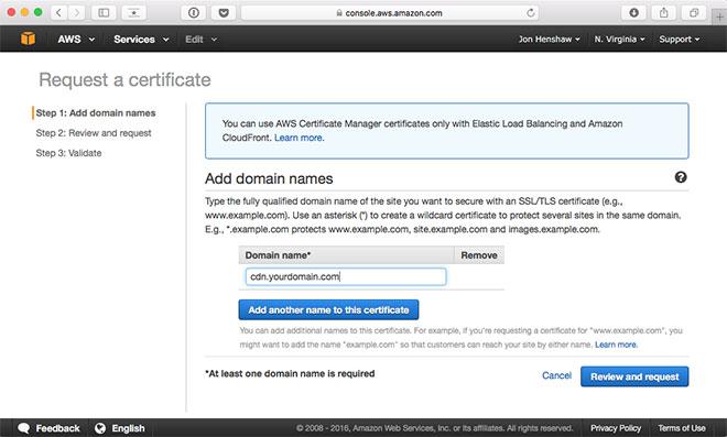SSL Encryption With WordPress & CloudFront | Raven